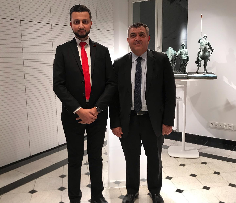 Avrupa Birliği Başkanı ve Dışişleri Bakan Yardımcımız Sayın Farukçı ile birlikte